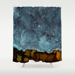 The Great Beyond Shower Curtain
