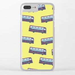 Bermuda Bus Clear iPhone Case