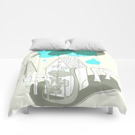The Edge of Un-remarkable Comforters