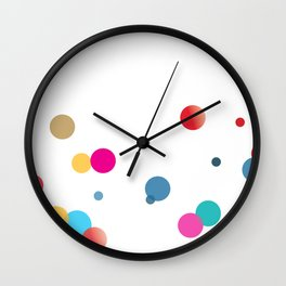 Beauty and the bubbles Wall Clock