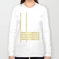 lemon Long Sleeve T-shirts featuring Lemon by ARTbyJWP