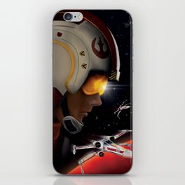Luke, Yavin patrol, Red Five iPhone Skin