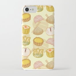 Dimsum everywhere! [yellow] iPhone Case