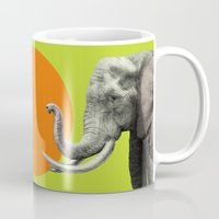 eric fan Mugs featuring Wild 6 by Eric Fan & Garima Dhawan by Garima Dhawan