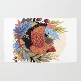 Spring Chicken Rug