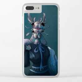 Sister Roach Clear iPhone Case