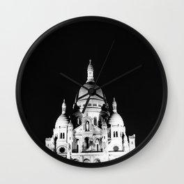 Montmartre, Dark  Wall Clock