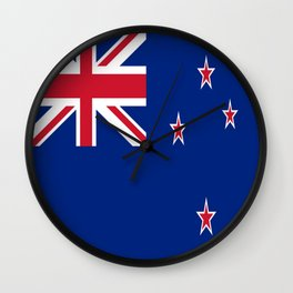 The Flag of New Zealand Wall Clock