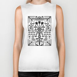 Eye of Vengence Biker Tank
