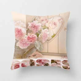 The Art of Roses  Throw Pillow