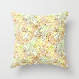 Early autumn in watercolor. Throw Pillow