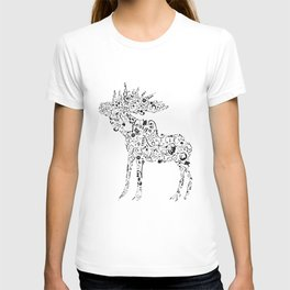 Many shapes of the Moose T-shirt