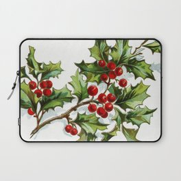 Holly Berries 20171001 by JAMFoto Laptop Sleeve