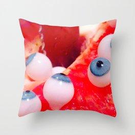 sexyeyes Throw Pillow