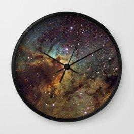 Cave Nebula SH2-155 Wall Clock