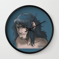 kili Wall Clocks featuring Kili ColorPalette by ScottyTheCat