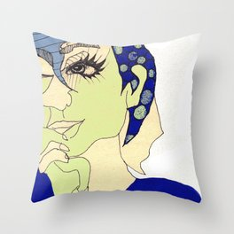 all this time away, you're still on my mind Throw Pillow