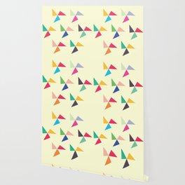 Colorful geometric pattern III Wallpaper