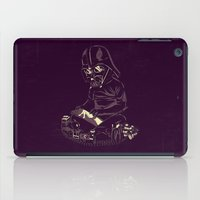 dark side iPad Cases featuring Dark Side by yortsiraulo