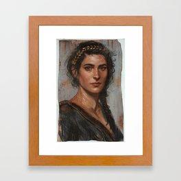 Misthios Framed Art Print