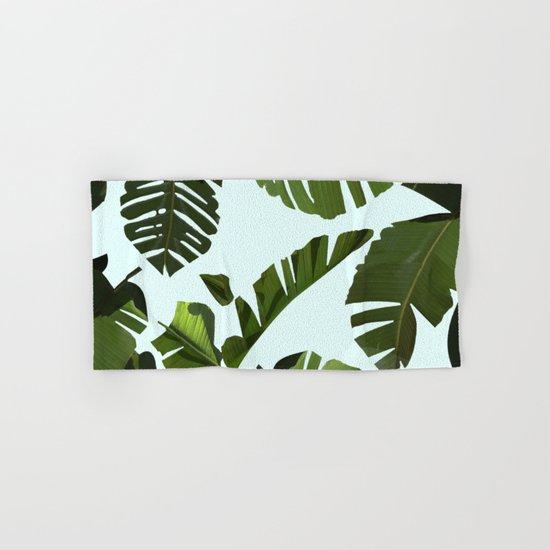 Palm Pattern Hand & Bath Towel