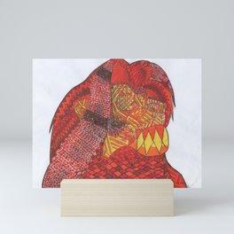 Simba,disney mandala Mini Art Print