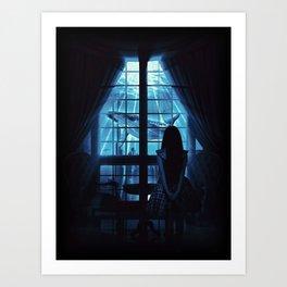 Nightly Visit Art Print