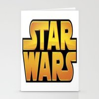 starwars Stationery Cards featuring StarWars by Camorrista