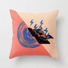 Sun X Storm Throw Pillow