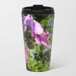Rose of Sharon Metal Travel Mug