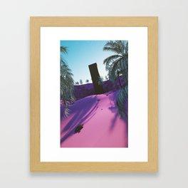 Palm King Framed Art Print