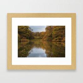 Autumn Ponds - 4 Framed Art Print