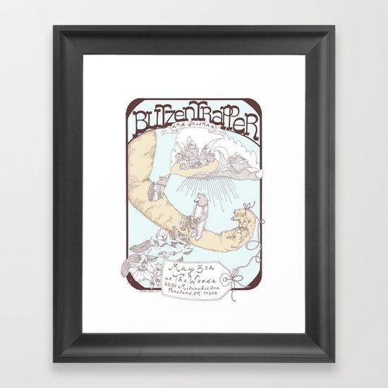 Blitzen Trapper Poster Framed Art Print