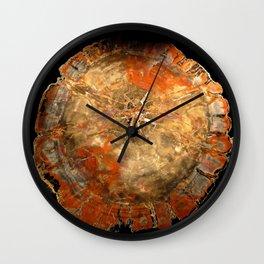 Petrified Wall Clock