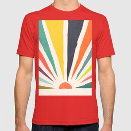 Rainbow ray T-shirt