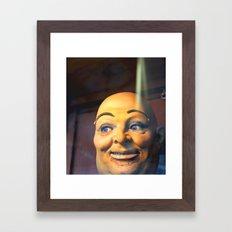 Mechanical Man Framed Art Print