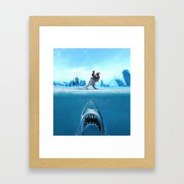 Jaws of Hoth Framed Art Print