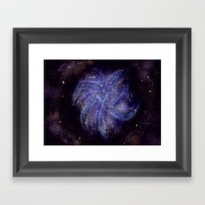 Pinwheel Galaxy Framed Art Print