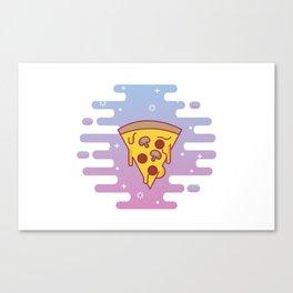 Magical Pizza Canvas Print