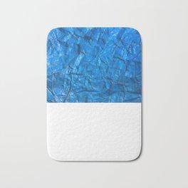 Blue texture Bath Mat