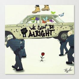 Kendrick Lamar - We Gon' Be Alright Canvas Print