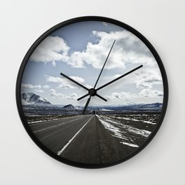 highway 95 Wall Clock