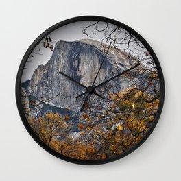 Half Dome, Yosemite, California Wall Clock