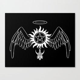 Destiel Logo version 2 Canvas Print