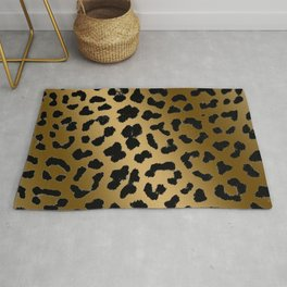 Cheetah ombre fur pattern 2.0 Rug