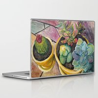 cacti Laptop & iPad Skins featuring Cacti by Emily Kenney