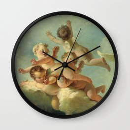 "Jean-Honoré Fragonard ""Le Jour (Day)"" Wall Clock"