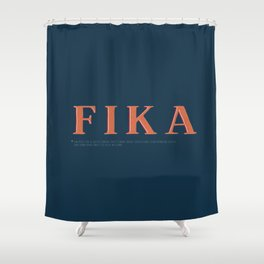 Fika Shower Curtain