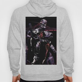 Kyle Reese Revenge Aliens Terminator 80s synthwave Hoody