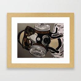 Spray it Framed Art Print